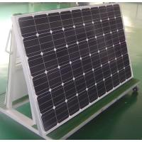 Wholesale Medium Size 265w Mono Crystal Solar Panel Black Frames Weathering Resistance TPT from china suppliers