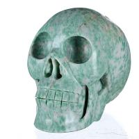 "Buy cheap 4.92"" Natural Qinghai Jade Skull/Skeleton, Art and Craft (6B59) from wholesalers"