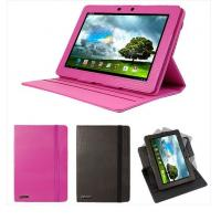Buy cheap Pink Asus Memo Pad Smart ME301T Asus Tablet Leather Case with Swivel Stand , Girl Use from wholesalers