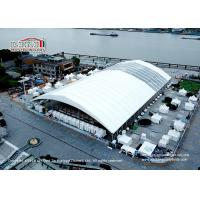 Buy cheap UV Resistant PVC Polygon Tent  ,  Clear Span Big Exhibition Tent With Frame Structure from wholesalers