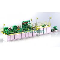 Buy cheap Efficient Mud Cleaning Equipment Mud Treatment System 120m3/H Max Slurry Capacity from wholesalers