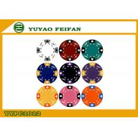 Buy cheap 28mm Ace King Suited Blank Custom Poker Chips Clay 13.5g Soft Feeling from wholesalers