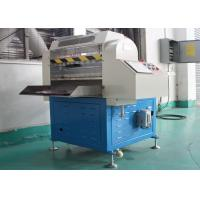 Buy cheap 4 Functions CNC Automatic Rubber Cutting Machine High Efficiency PLC And HMI Control from wholesalers