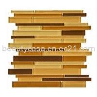 Wholesale Brown and Coffee Glass Mosaic Glass Mosaic,Glass Tile from china suppliers