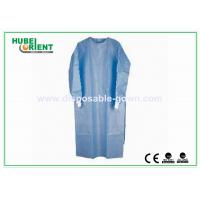 Buy cheap Anti Static Disposable Surgical Gowns Disposable Lab Coat Long Sleeves from wholesalers