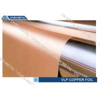 Quality Single Shiny VLP ED Electrodeposited Copper Foil , hte copper foil roll for sale