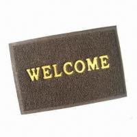 Buy cheap PVC Coil Door Mat with Heavy Duty Back, Available in Various Sizes from wholesalers