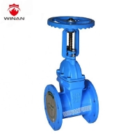 Buy cheap DN80 DN150 Non Vertical Carbon Steel Valve Water Flange Gate With Pipe Fittings from wholesalers