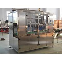 Fully Auto Liquid Filling Machine for Tea / Oil , Oil Packing Machine Manufactures