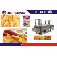 Buy cheap Electric Power Potato Chips Making Machine Continous Belt Fryer from wholesalers