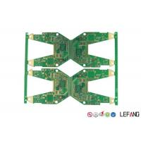 Wholesale Electronics Parts PCB Circuit Board 4 Layers 1 OZ Copper ENIG Surface Treatment from china suppliers