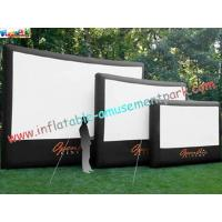 Wholesale Professional Outside Inflatable Movie Screen With 0.55mm PVC Tarpaulin from china suppliers