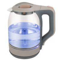 Buy cheap Fast Boiling Clear Glass Electric Kettle Electric Tea Kettle 360 Degree Rotational Base from wholesalers