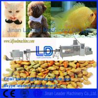 China Automatic Excellent Quality Capacity Pet Food Processing Machine made in China on sale