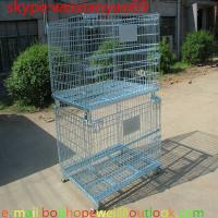 Buy cheap storage cages on wheels/pallet cage/security cage/wire security cage/industrial storage cabinets/metal storage bins from wholesalers