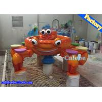 Wholesale 8 P Indoor Playground Equipment Sand Crab Space Steel Glass Tables Gaming Device from china suppliers