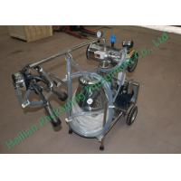 Buy cheap Small Cattle Mobile Milking Machine Hand Operated Sucking Milk from wholesalers