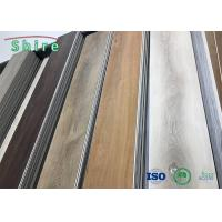 Buy cheap Oak Wood Look SPC Rigid Core Vinyl Flooring Stain Resistant With Transparent Wear Layer from wholesalers