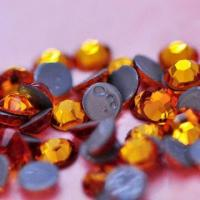 Buy cheap Hot Fix Rhinestone Motif, Topaz, Top Quality from wholesalers