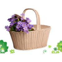 Buy cheap Plastic Rattan Picnic Basket from wholesalers