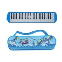 Wholesale ABS Plastic Shell Copper board 37 key Melodica kids toy with cartoon leather box-AGME37B-3 from china suppliers