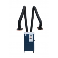Wholesale 2600m3/H Double Suction Arms Soldering Fume Extractor from china suppliers