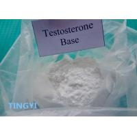 Buy cheap High Purity Anabolic Steroid Powder Testosterone Base CAS 58-22-0 from wholesalers