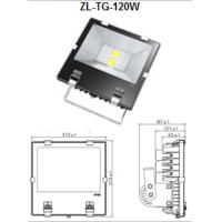 Buy cheap Toughened Glass 120W Outdoor LED Flood Light Small Led Floodlight from wholesalers
