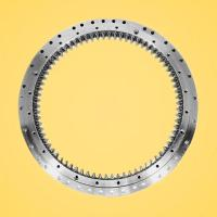 Buy cheap China Rothe Erde ball slewing bearing manufacturer, slewing ring used on crane from wholesalers