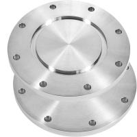 Buy cheap Silver Color Blind Flange / Alloy Steel Flanges Round Shape 1/2 - 24 Size from wholesalers