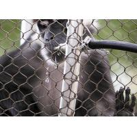 Buy cheap Primary Color X- Tend Animal Enclosure Mesh , Stainless Steel Zoo Mesh product