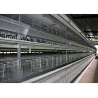 Buy cheap Energy Saving H Type Layer Chicken Cage / Wire Poultry Cages Operate Steadily from wholesalers