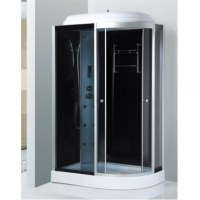 Buy cheap Sliding Door Tempered Glass Steam Shower Room Transparent 800x1200x2150 from wholesalers