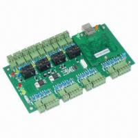 Buy cheap TCP/IP Network IE Web-server Access Controller for 4-door/-reader, with Inter Lock Feature from wholesalers