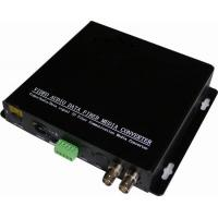 Buy cheap 2 channels 3G/HD-SDI with 1 port 10/100 Ethernet ,1-ch RS232/422/485 to fiber multiplexer from wholesalers