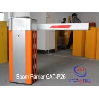 240V Rising Arm Automatic Boom Barrier For One Exit Parking System Manufactures