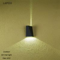 Narrow ways outdoor waterproof outside decoration 10W LED wall light Manufactures