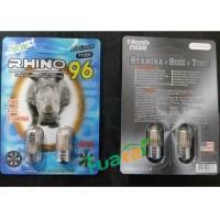 Buy cheap Rhino96 3D Double Pills Natural Male Enhancement Libido Pills For Men Long Sex product