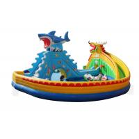 Buy cheap Amusement Water Park Inflatable Slide Large Blow Up Slide For Children from wholesalers