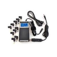 Buy cheap Up to Date 90W Laptop universal DC Car Adapter 2 in 1 for home and car use from wholesalers