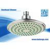 "High Efficiency 6"" Single Function  Overhead Shower Head , Rainwater Shower Heads Manufactures"