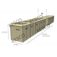 Buy cheap Hesco Bastion Barrier Flood Barrier Control Mil 8 Military Sand Wall product