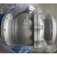 Buy cheap DIN 2pc Floating Type Stainless Steel Ball Valve With ISO5211 Direct Flange End Cf8m from wholesalers