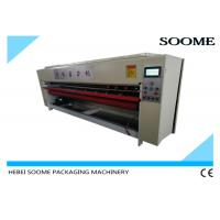 Buy cheap Thin Blade Slitter Scorer Corrugated Cardboard Slitting Machine Computerized from wholesalers