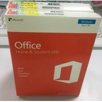 Buy cheap Wholesale price Full Package Retail Box Version Windows Microsoft Office 2016 Home And Student office 2016 HS product