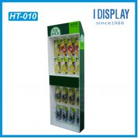 Buy cheap Simple corrugated cardboard hanging peg hook pop display for charger from wholesalers