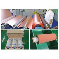 Buy cheap 500 - 5000 Meter 18um Copper Roll , High Ductility Adhesive Copper Foil Sheet from wholesalers