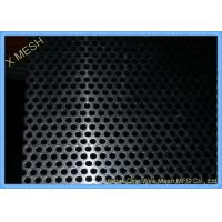 Buy cheap Stainless Steel Perforated Metal Sheet For Ceiling / Filtration Slot Hole Shape from wholesalers