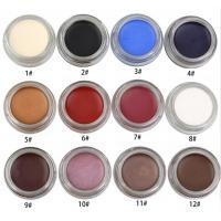 Buy cheap Waterproof Eye Makeup Eyeliner Gel High Pigment 12 Colors Easy To Grip Slim product