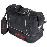 Buy cheap Precision Training Junior Black Silver Sports Football Rugbt Kit Bag-sling bag from wholesalers